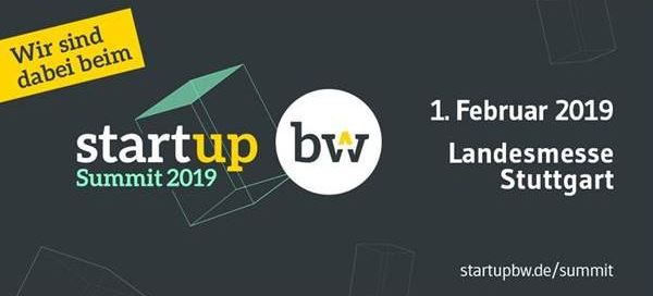 1. Februar 2019: 2. Start-up BW Summit